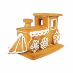 trójwymiarowa lokomotywa z piernika